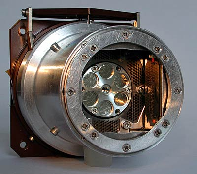 Alpha-particle x-ray spectrometer